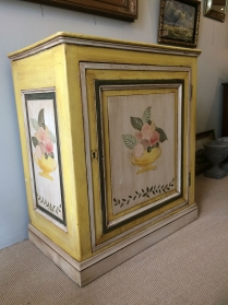 19th Century Cupboard with Old Paint