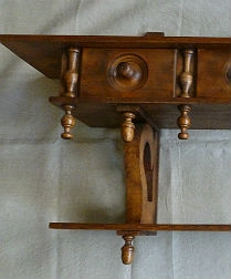 19th Century Decorative Shelf with Drawers