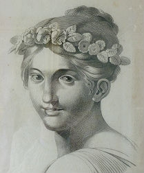19th Century Drawing of a Lady