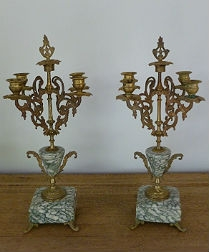 19th Century French Candelabres