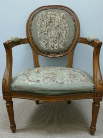 19th Century French Fauteuil Chair