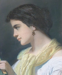 19th Century French Portrait of a Lady