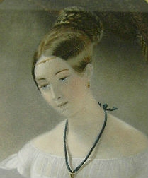 19th Century French Print of a Lady
