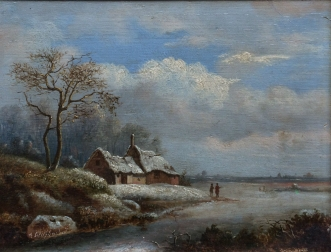 19th Century Winter Landscape