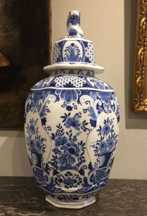 Antique Delft Vase