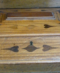 Antique Elm Box