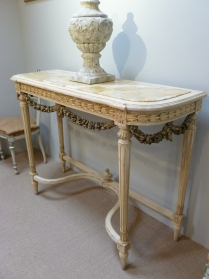 Antique French Console Table - 19th Century