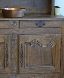 Antique French Country Dresser