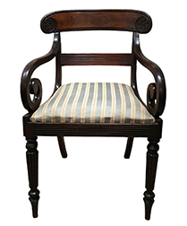 Antique French Desk Chair