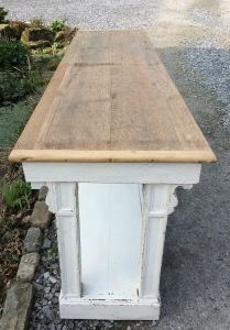 Antique French Drapers Table - 19th Century