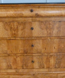 Antique French Elm Chest of Drawers - Louis Philippe