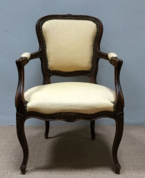 Antique French Fauteuil - 19th Century