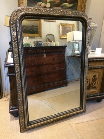 Antique French Mirror - 19th Century