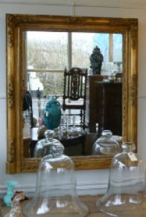 Antique French Mirror circa 1850