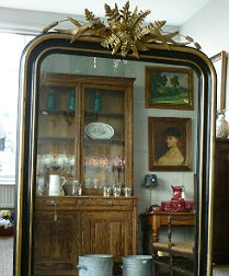 Antique French Mirror - Napoleon III (c. 1860)