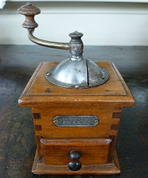 Antique French Pepper Grinder