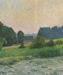 Antique Landscape - circa 1880