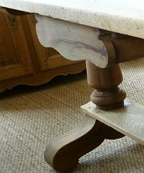 Bleached Oak Table