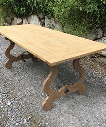 Bleached Spanish Oak Table