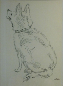 Drawing of a Dog - Charles Kiffer