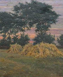 End of the Harvest - French School