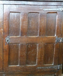 English 17th Century Cupboard