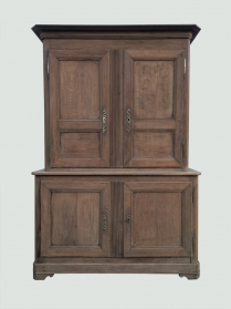 French Bleached Oak Cupboard/Buffet in