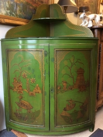 French Corner Cupboard in a Chinese Style