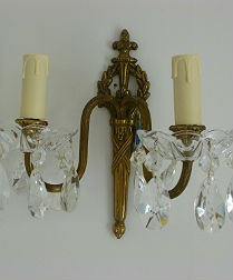 French Empire Style Wall Lights