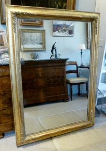 French Gilt Mirror - Early 19th Century
