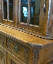 French Oak Cupboard - 19th Century