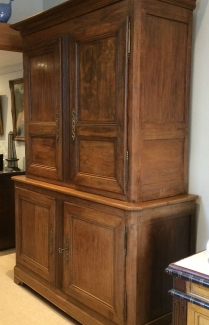 French Oak Cupboard/Buffet in two parts