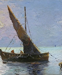 French Seascape - The Fisherman