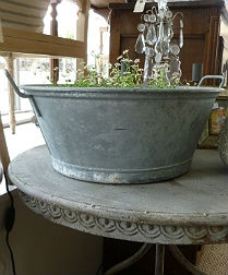 French Zinc Planter