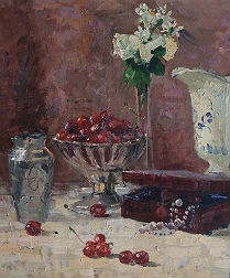 Frnch Still Life - Oil Painting