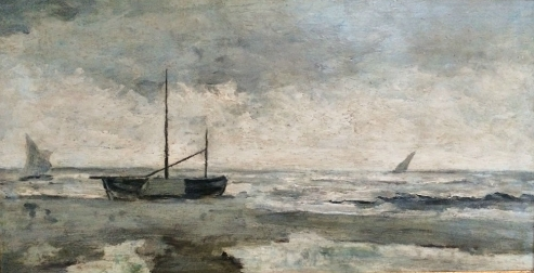 Impressionist Marine - Antique Oil Painting