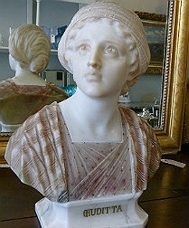 Italian Bust of a Young Lady