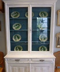 Original French Pharmacy Cuboard
