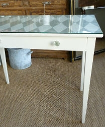Painted Antique French Table