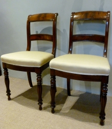 Pair of Antique Chairs - French Louis Philippe
