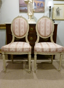 Pair of Antique French Chairs - 19th Century