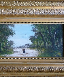Pair of French 19th Century Landscapes