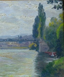 Pair of French Impressionist Landscapes - French School