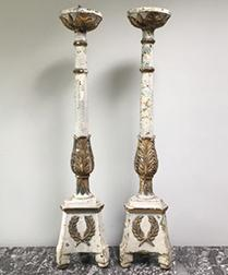 Pair of Italian Candlesticks