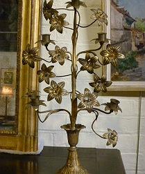 Pair of Large 19th Century Candelabres