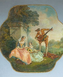 Pair of Romantic French Paintings