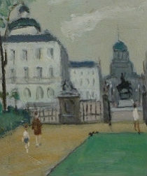Place Royal Brussels - Raoul Labarre 1902 - 1987