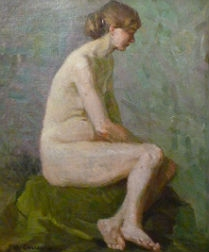 Post Impressionist Nude - French School
