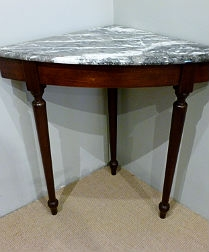 Rare French Corner Table