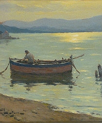 Return of the Fisherman - French School